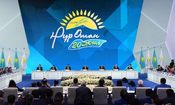 Съезд партии «Нұр Отан»: новый этап социального развития