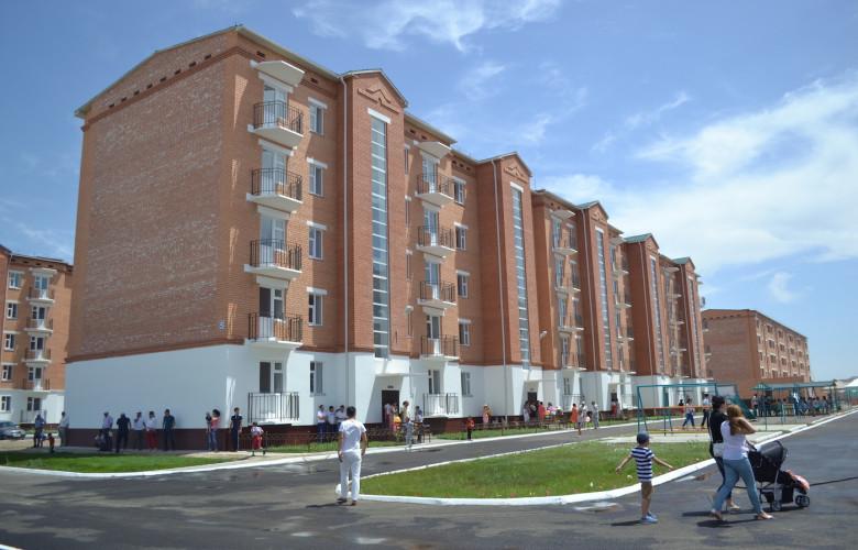 Жилой многоэтажный блок